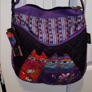 NWT Laurel Burch Crossbody bag!